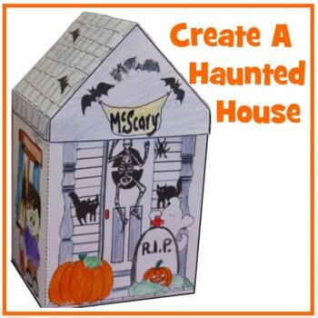 Hallowe'en Crafts - Haunted House