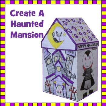 Hallowe'en Crafts - Haunted Mansion