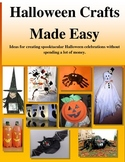 Halloween Crafts Made Easy
