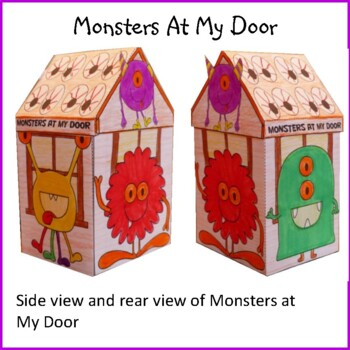 Hallowe'en Crafts - Monsters At My Door