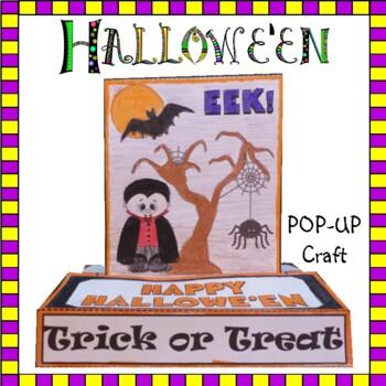 Hallowe'en Crafts - POP-UP Craftivity