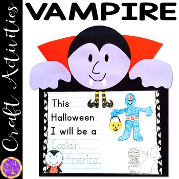 Halloween Crafts (Vampire, Zombie, Ghost and Skeleton)