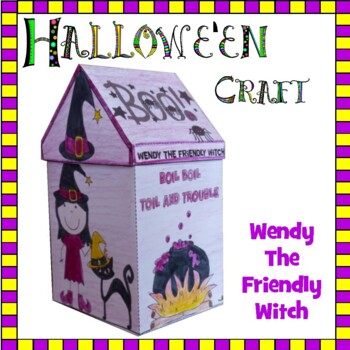 Hallowe'en Crafts - Wendy the Friendly Witch