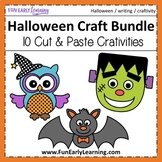 Halloween Crafts and Writing Activities Bundle