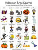 Halloween Bingo Game {Create Your Own Luck}