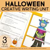 Halloween Create a Character Writing Activity | PRINTABLE