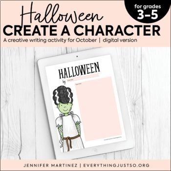 Halloween Writing Activity | October Creative Writing | Halloween Activities