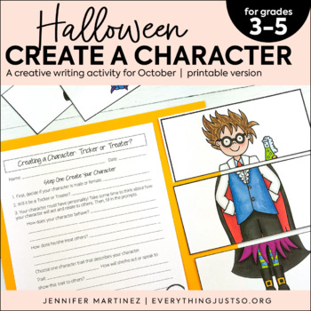 Halloween Writing Activity | October Creative Writing | Halloween Activities