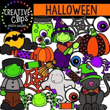 Halloween Clipart {Creative Clips Clipart}