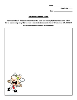 Halloween Creative Coloring Activity