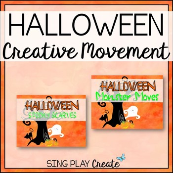 Halloween Creative Movement Activities for K-6