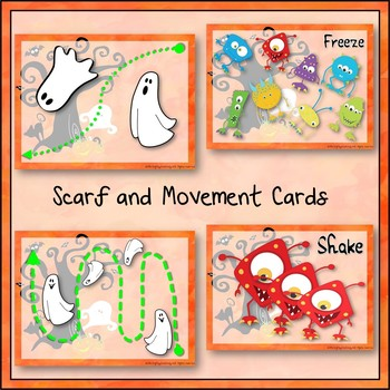 Halloween Creative Movement and Brain Break Activities for K-6