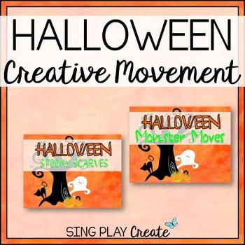 Halloween Creative Movement Activities for K-6