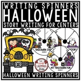 Halloween Creative Writing Spinners- Halloween Writing 2nd Grade, 3rd Grade