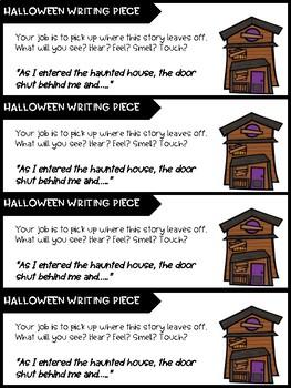 Halloween Creative Writing Bundle