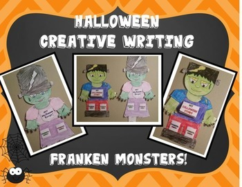 Halloween Creative Writing Franken Monsters