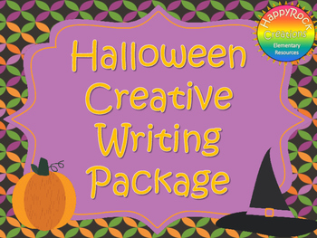 Halloween Creative Writing Package