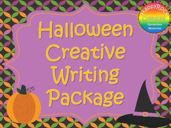 Halloween Creative Writing Package