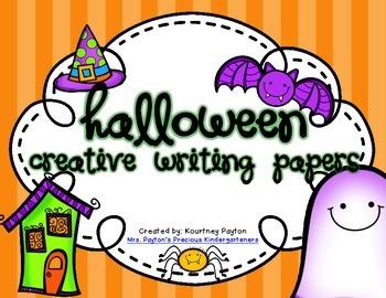 Halloween Creative Writing Papers!