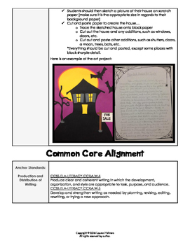 Halloween Creative Writing Project Focusing on Revision