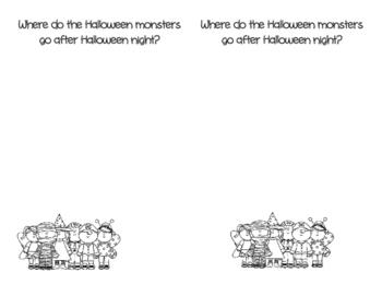 Halloween Creative Writing Prompt