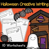 Halloween - Creative Writing Prompt Questions - 10 Worksheets