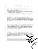 Halloween Creative Writing Prompts