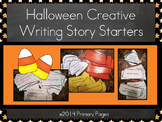 Halloween Creative Writing Story Starters (Color and Black & White!!)