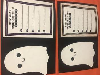 Halloween Creativity-Guess Who's Underneath the Sheet!