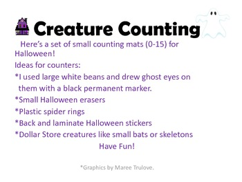 Halloween Creature Counting