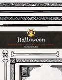 Halloween Creepy Borders and Frames