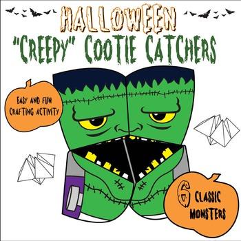 Halloween Creepy Cootie Catchers