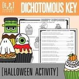 Dichotomous Keys- Halloween Creepy Cupcakes