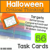Halloween Theme Activity for Speech Therapy | Language | Critical Thinking