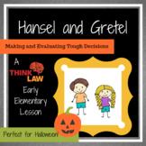 Halloween Critical Thinking: Hansel and Gretel