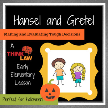 Halloween Critical Thinking: Hansel and Gretel
