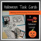 Halloween Critical Thinking Task Cards- Using Real Life Le
