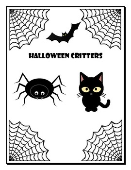 Halloween Critters Craft