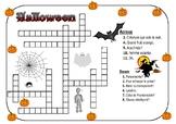 Halloween Crossword (French)