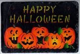 Halloween Crossword Game