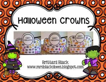 Halloween Crowns