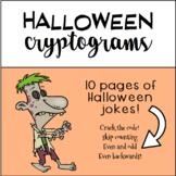 Halloween Cryptograms