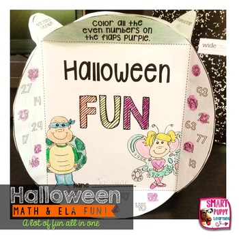 Halloween Knowledge Box: Review Activities for Math & ELA