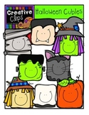 Halloween Cubies {Creative Clips Digital Clipart}