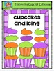 Halloween Cupcake Creations {P4 Clips Trioriginals Digital