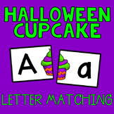 Halloween Cupcake Letter Matching Cards