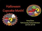 VA SOL 6.1, 6.2, 6.3, 6.4 Halloween Cupcake Ratio FD% Math