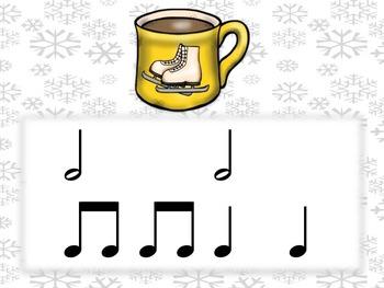 Hot Cocoa Rhythms Half Note