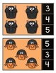 Halloween Cupcakes Clip It! Numbers 1-10 FREEBIE!