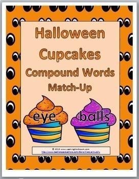 Compound Words - Halloween Theme